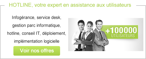 Centre informatique helpdesk